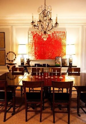 Celebrity dining rooms - Kate Spade and Andy Spade in New York.jpg